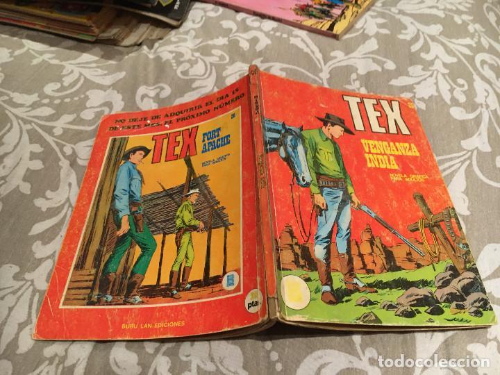 TEX Nº25 VENGANZA INDIA - EDICIONES BURU-LAN (Tebeos y Comics - Buru-Lan - Tex)