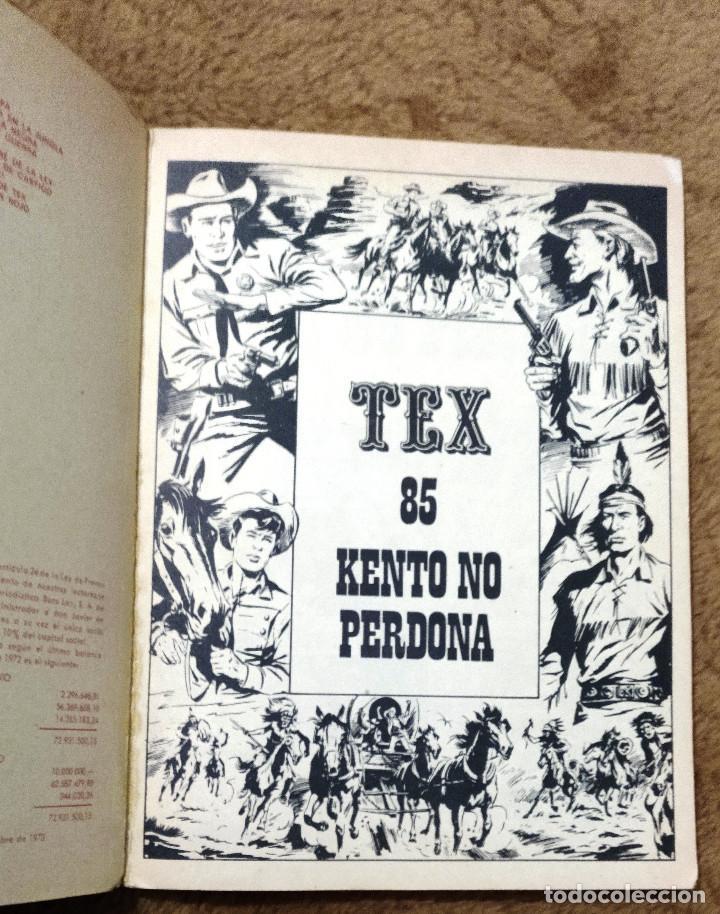Cómics: TEX nº 85 (Buru Lan 1974) - Foto 2 - 195847525