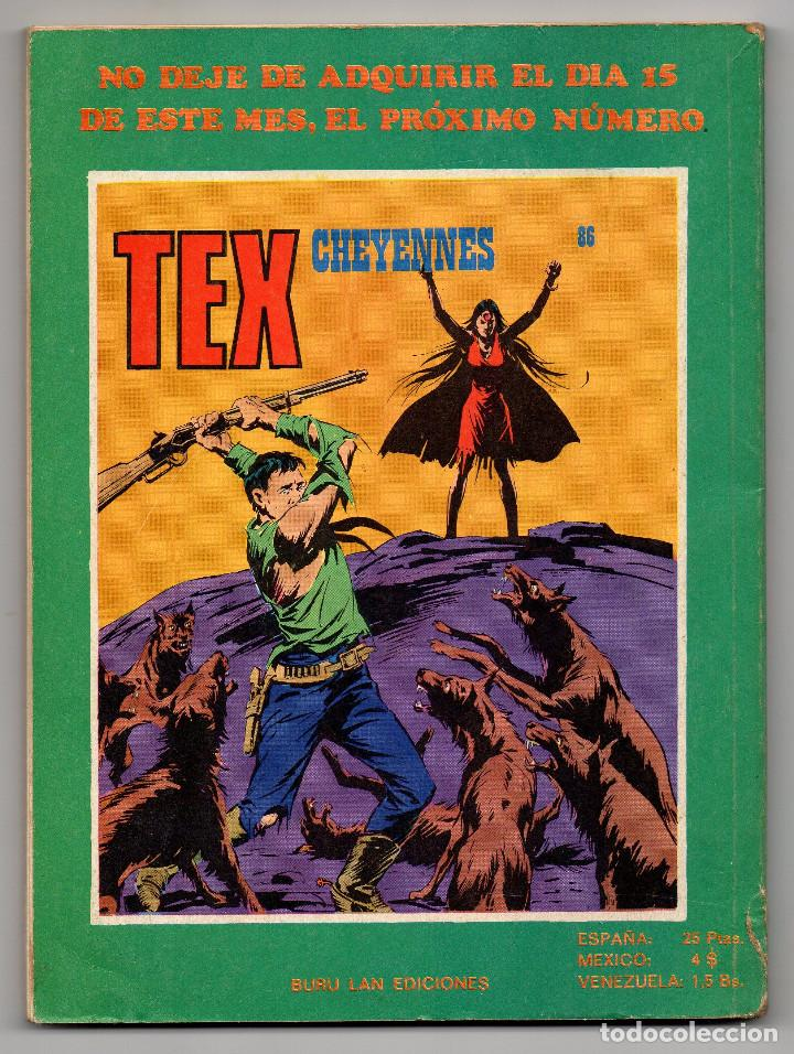 Cómics: TEX nº 85 (Buru Lan 1974) - Foto 6 - 195847525