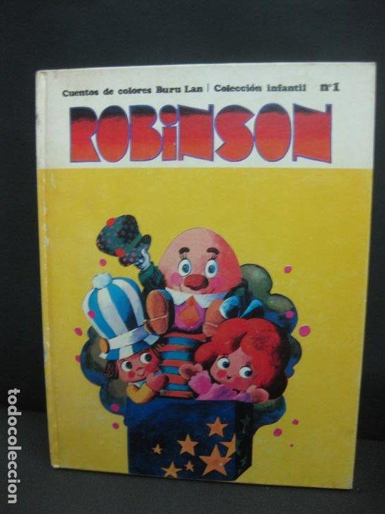 ROBINSON CUENTOS DE COLORES BURU LAN Nº1. 1970. (Tebeos y Comics - Buru-Lan - Otros)