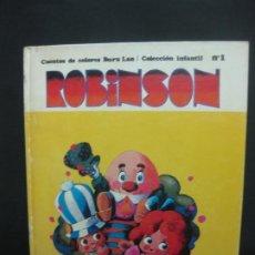 Cómics: ROBINSON CUENTOS DE COLORES BURU LAN Nº1. 1970.. Lote 196728883