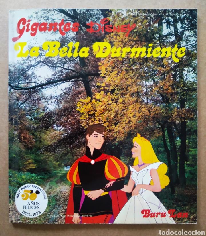 LA BELLA DURMIENTE (BURULAN, 1973). COLECCIÓN GIGANTES DISNEY/HISTORIAS MARAVILLOSAS N°9. (Tebeos y Comics - Buru-Lan - Otros)