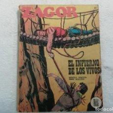 Cómics: ZAGOR - Nº 27 - EL INFIERNO DE LOS VIVOS - NOVELA GRÁFICA PARA ADULTOS - BURU LAN EDICIONES. Lote 197291440