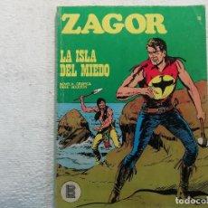 Cómics: ZAGOR - Nº 15 - LA ISLA DEL MIEDO - NOVELA GRÁFICA PARA ADULTOS - BURU LAN EDICIONES. Lote 197294423