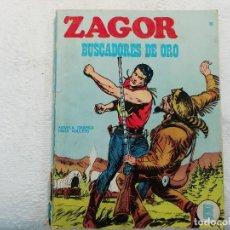 Cómics: ZAGOR - Nº 10 - BUSCADORES DE ORO - NOVELA GRÁFICA PARA ADULTOS - BURU LAN EDICIONES. Lote 197294675