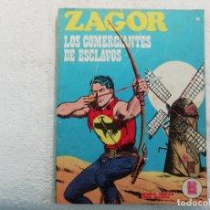 Cómics: ZAGOR - Nº 19 - LOS COMERCIANTES DE ESCLAVOS - NOVELA GRÁFICA PARA ADULTOS - BURU LAN EDICIONES. Lote 197294792