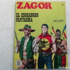Cómics: ZAGOR - Nº 20 - EL ESCUADRÓN FANTASMA - NOVELA GRÁFICA PARA ADULTOS - BURU LAN EDICIONES. Lote 197294961