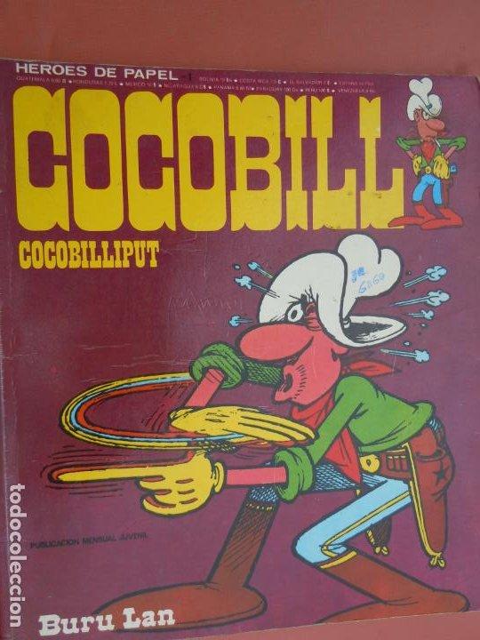 COCOBILL Nº 1 , BURU LAN HÉROES DE PAPEL 1,COCOBILLIPUT - 1973 HERACLIO FOURNIER (Tebeos y Comics - Buru-Lan - Otros)