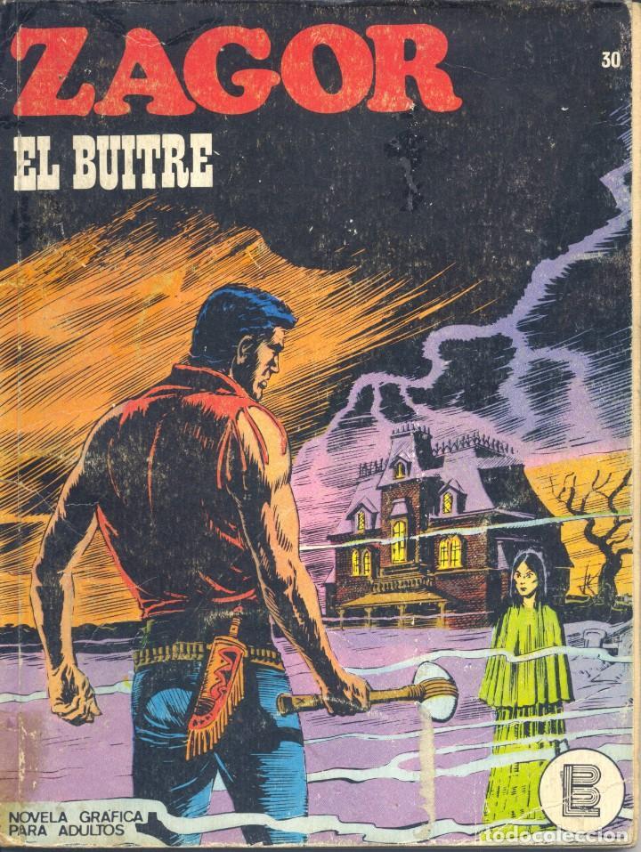 ZAGOR Nº30. BURULÁN, 1972 (Tebeos y Comics - Buru-Lan - Zagor)