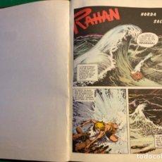 Cómics: RAHAN ( 16 EPISODIOS ENCUADERNADOS 1974). Lote 197973945