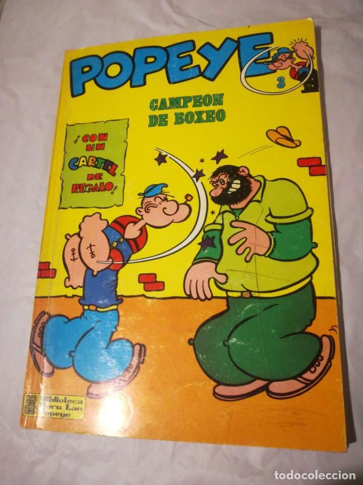 POPEYE CAMPEÓN DE BOXEO 3 BURU LAN 1970 (Tebeos y Comics - Buru-Lan - Popeye)
