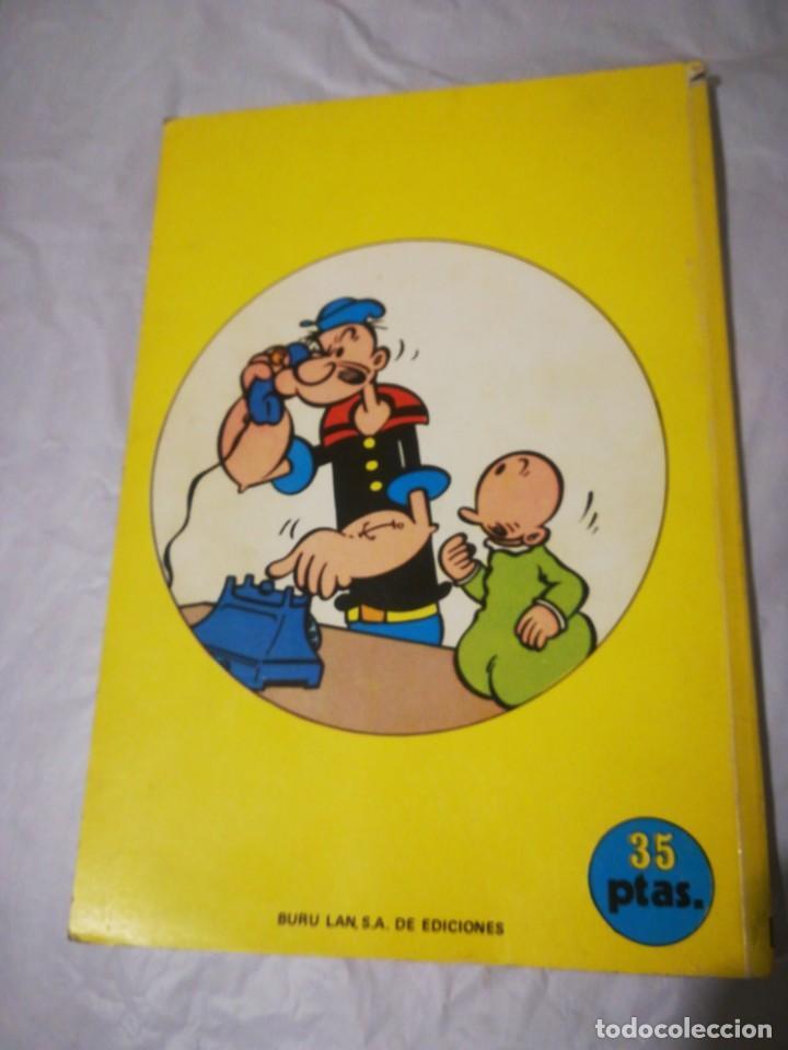 Cómics: Popeye campeón de boxeo 3 buru lan 1970 - Foto 2 - 198244506