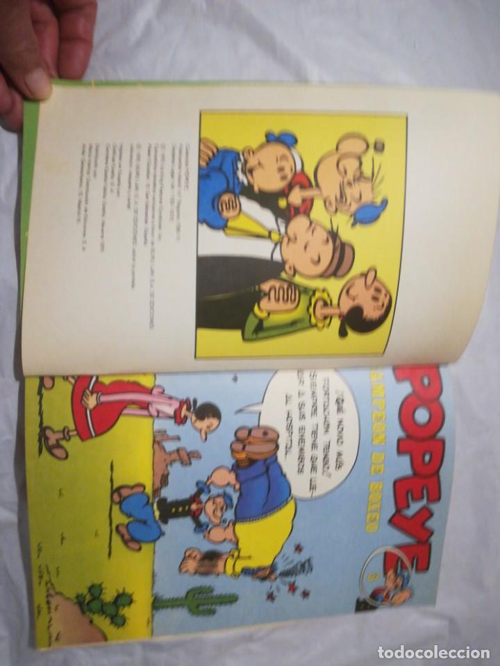 Cómics: Popeye campeón de boxeo 3 buru lan 1970 - Foto 5 - 198244506