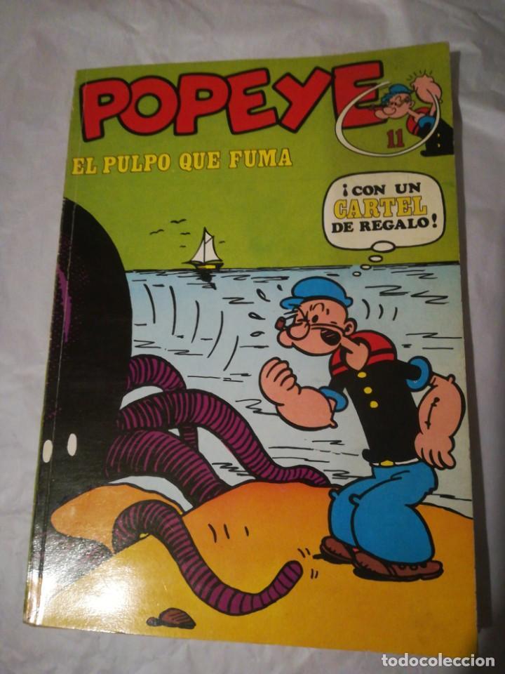 POPEYE EL PULPO QUE FUMA 11 BURU LAN 1971 (Tebeos y Comics - Buru-Lan - Popeye)