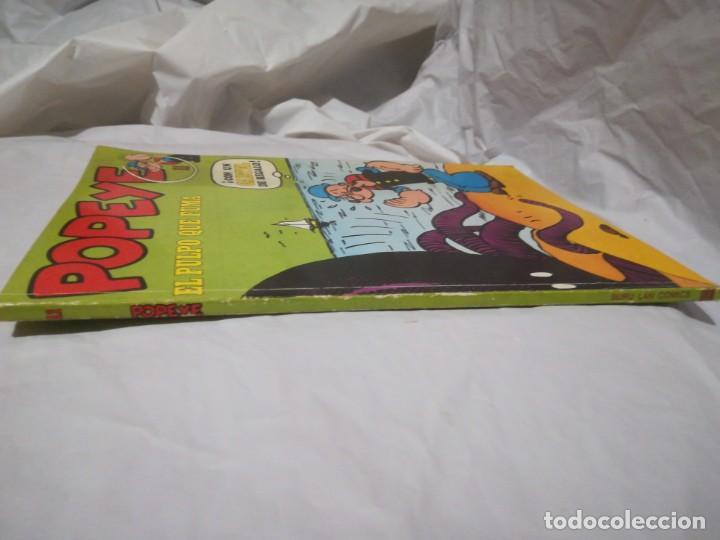 Cómics: Popeye el pulpo que fuma 11 buru lan 1971 - Foto 3 - 198245081