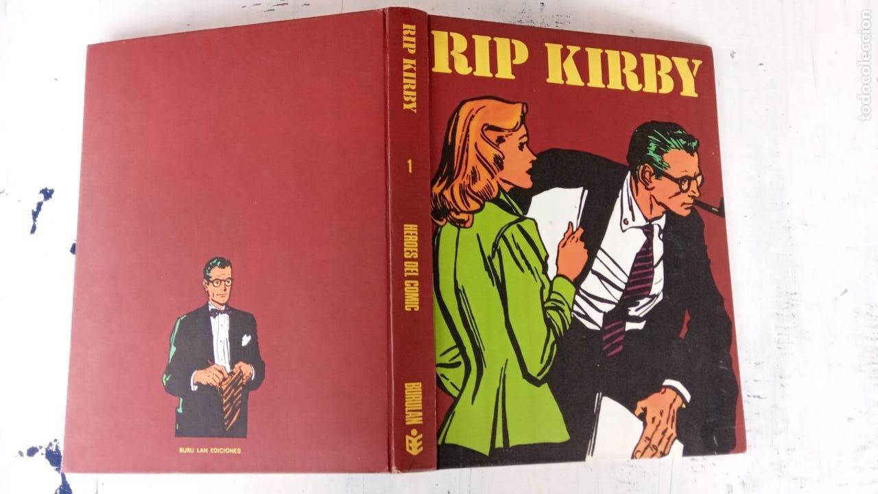Cómics: RIP KIRBY BURULAN TOMO Nº 1 - MAGNÍFICO ESTADO - 240 PGS - BURULAN 1973 - Foto 2 - 198252348