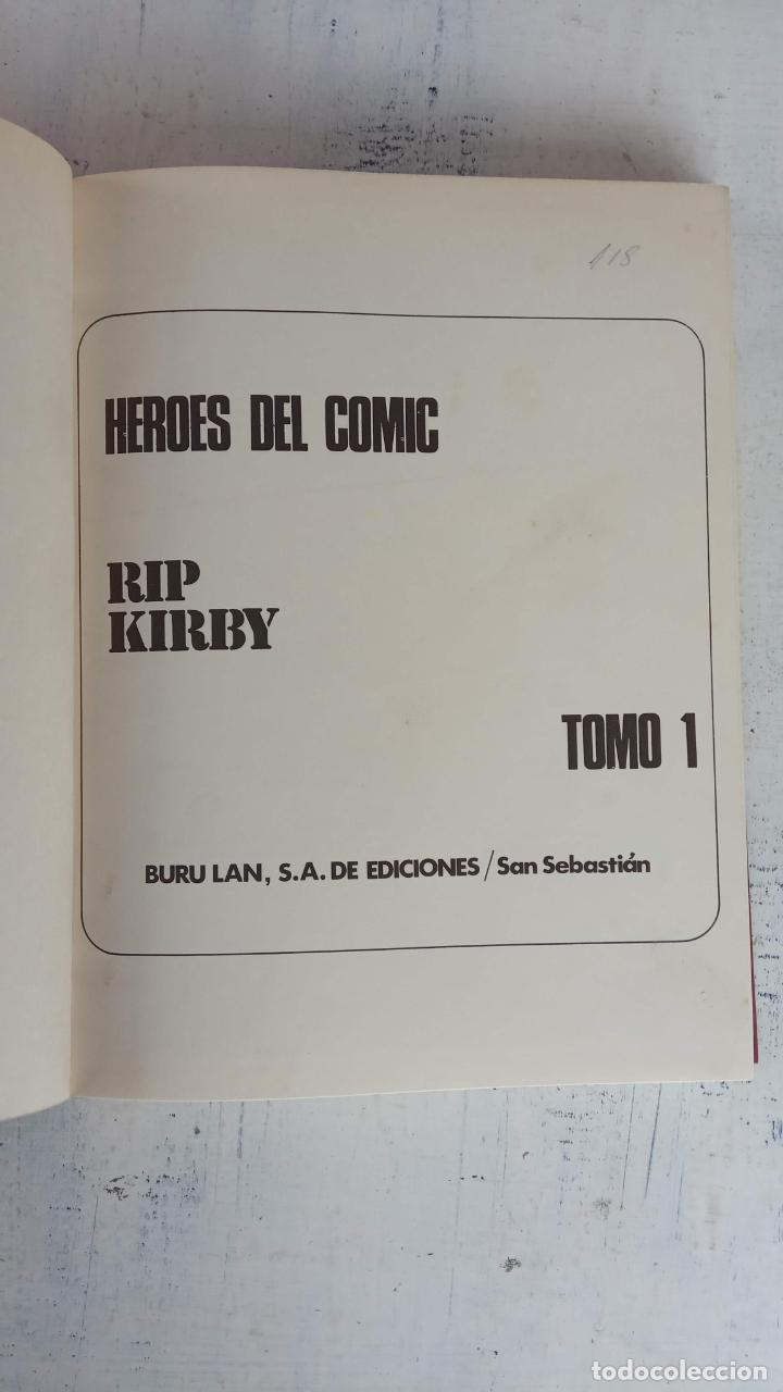 Cómics: RIP KIRBY BURULAN TOMO Nº 1 - MAGNÍFICO ESTADO - 240 PGS - BURULAN 1973 - Foto 12 - 198252348