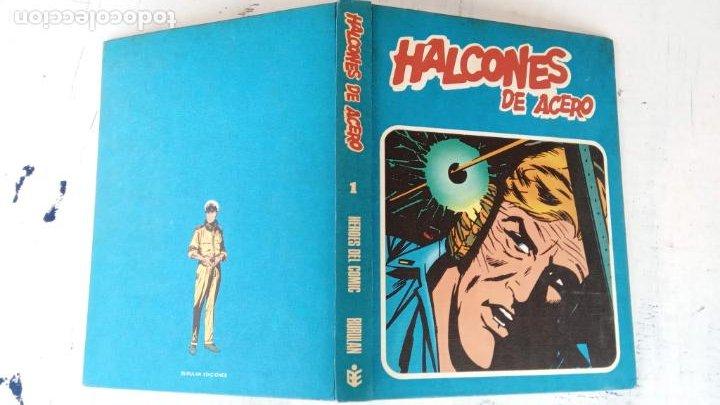 Cómics: HALCONES DE ACERO Nº 1 EDITORIAL BURULAN 1973 - MAGNIFICO ESTADO, 240 PGS. - Foto 2 - 198252891