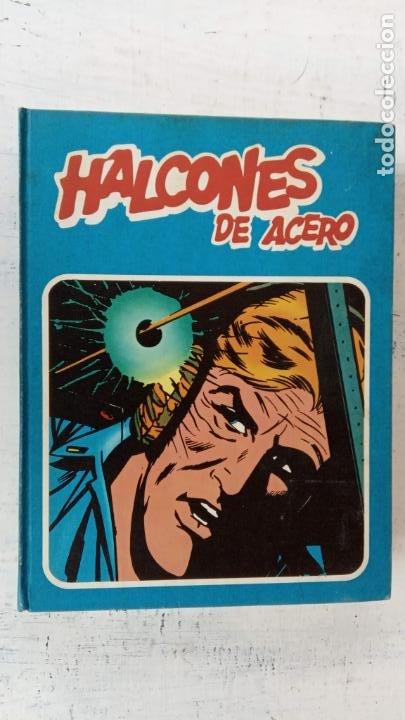 Cómics: HALCONES DE ACERO Nº 1 EDITORIAL BURULAN 1973 - MAGNIFICO ESTADO, 240 PGS. - Foto 3 - 198252891