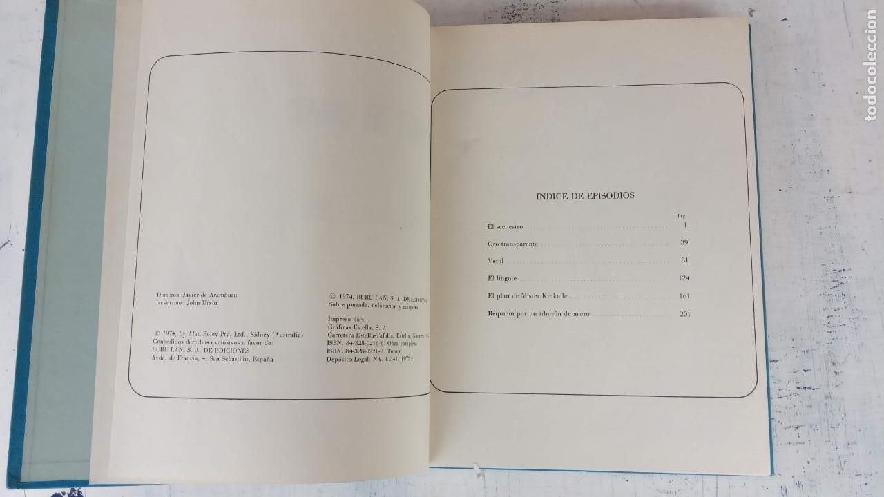 Cómics: HALCONES DE ACERO Nº 1 EDITORIAL BURULAN 1973 - MAGNIFICO ESTADO, 240 PGS. - Foto 5 - 198252891