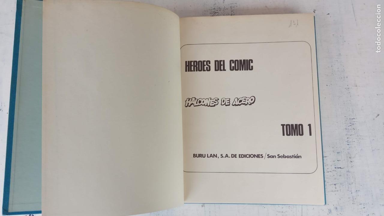 Cómics: HALCONES DE ACERO Nº 1 EDITORIAL BURULAN 1973 - MAGNIFICO ESTADO, 240 PGS. - Foto 6 - 198252891