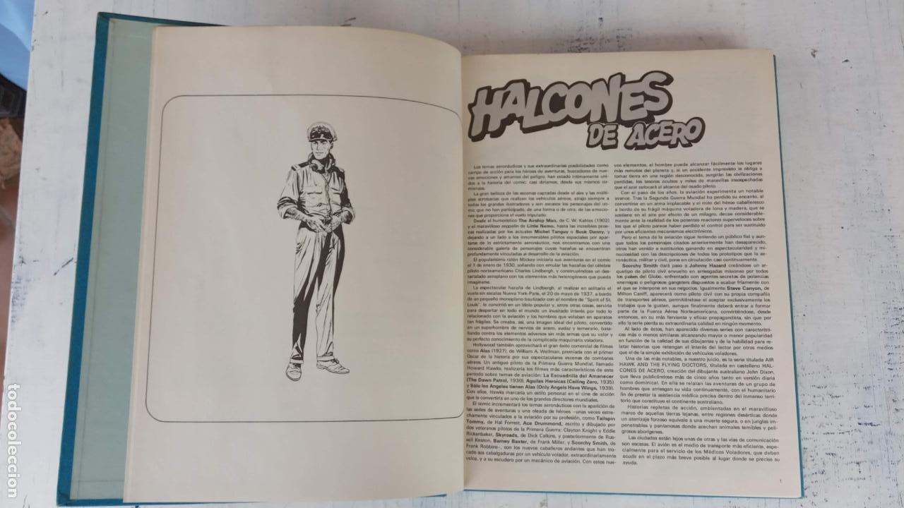Cómics: HALCONES DE ACERO Nº 1 EDITORIAL BURULAN 1973 - MAGNIFICO ESTADO, 240 PGS. - Foto 7 - 198252891
