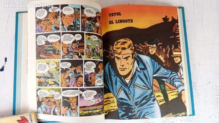 Cómics: HALCONES DE ACERO Nº 1 EDITORIAL BURULAN 1973 - MAGNIFICO ESTADO, 240 PGS. - Foto 13 - 198252891