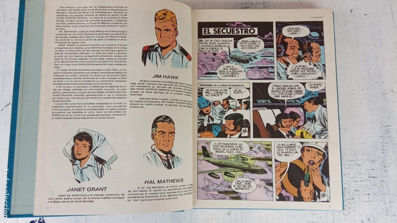 Cómics: HALCONES DE ACERO Nº 1 EDITORIAL BURULAN 1973 - MAGNIFICO ESTADO, 240 PGS. - Foto 18 - 198252891