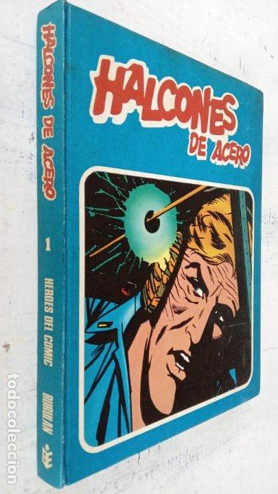 HALCONES DE ACERO Nº 1 EDITORIAL BURULAN 1973 - MAGNIFICO ESTADO, 240 PGS. (Tebeos y Comics - Buru-Lan - Halcones de Acero)