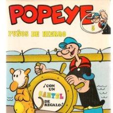 Cómics: POPEYE. Nº 5. PUÑOS DE HIERROS. BURU LAN, 1971 (P/B3). Lote 198431207