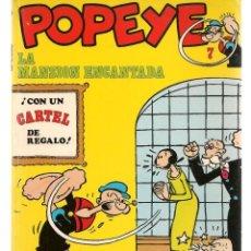 Cómics: POPEYE. Nº 7. LA MANSIÓN ENCANTADA. BURU LAN, 1971 (P/B3). Lote 198458430
