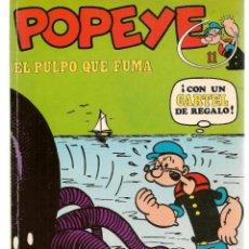Cómics: POPEYE. Nº 11. EL PULPO QUE FUMA. BURU LAN, 1971 (P/B3). Lote 198458662