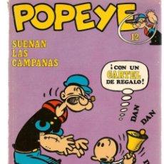 Cómics: POPEYE. Nº 12. SUENAN LAS CAMPANAS. BURU LAN, 1971 (P/B3). Lote 198458862