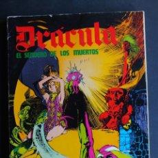 Cómics: DRACULA. EL SENDERO DE LOS MUERTOS. EPISODIOS COMPLETOS. BURU LAN. BURULAN AÑO 1974. Lote 198477973
