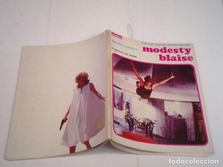 Cómics: MODESTY BLAISE - EL SINDICATO DEL CRIMEN - EPISODIOS COMPLETOS - BUEN ESTADO - CJ 115 - GORBAUD - Foto 2 - 198587648