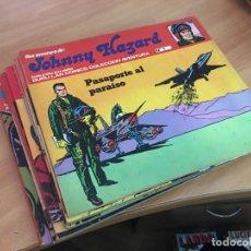 Cómics: JOHNNY HAZARD LOTE COLECCION COMPLETA 1 AL 11 (BURULAN) (COIB70). Lote 199060095