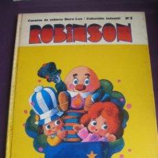 Cómics: ROBINSON - CUENTOS DE COLORES BURU LAN Nº1. 1970 - ALBERTO SOLSONA . Lote 199282475