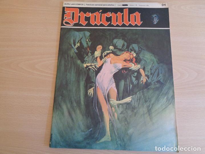 DRÁCULA Nº 4. BURU LAN COMICS (Tebeos y Comics - Buru-Lan - Drácula)