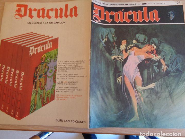 Cómics: Drácula Nº 4. Buru Lan Comics - Foto 2 - 199514255