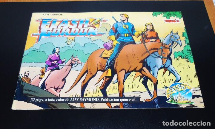 FLASH GORDON EDICION HISTORICA -- NUMERO 15 (Tebeos y Comics - Buru-Lan - Flash Gordon)