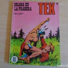 Cómics: TEX Nº 50. DRAMA EN LA PRADERA. EDITA BURU LAN. BUEN ESTADO. Lote 199839792