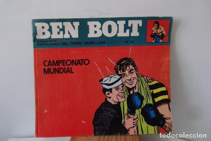 = COMIC: BEN BOLT - 1973. = CAMPEONATO MUNDIAL. = (Tebeos y Comics - Buru-Lan - Otros)
