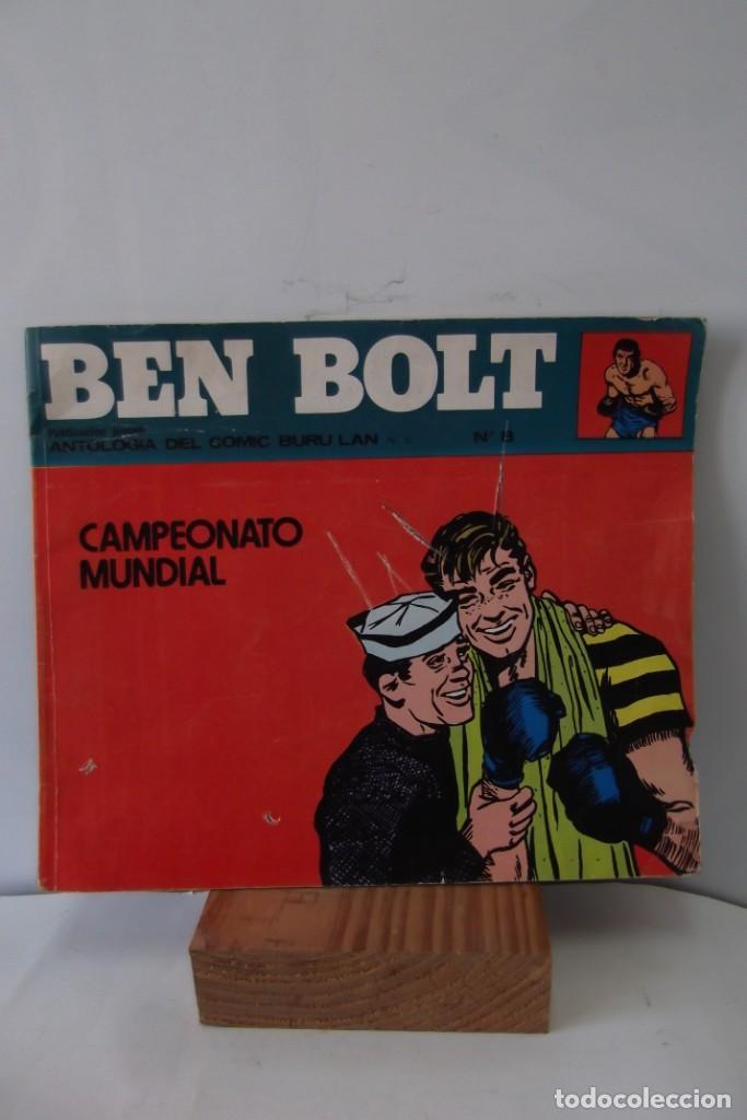 Cómics: = COMIC: BEN BOLT - 1973. = CAMPEONATO MUNDIAL. = - Foto 7 - 200116918