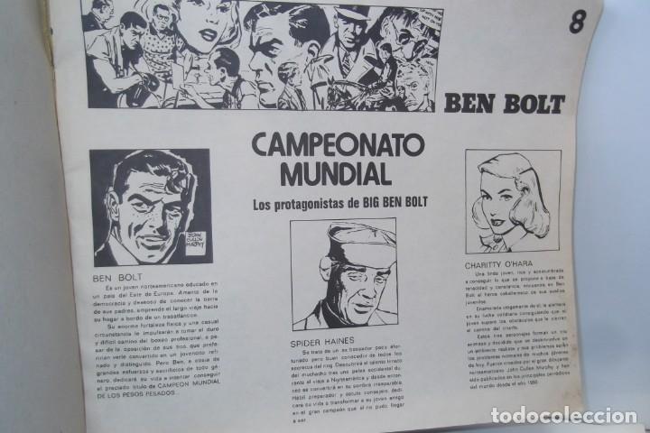 Cómics: = COMIC: BEN BOLT - 1973. = CAMPEONATO MUNDIAL. = - Foto 9 - 200116918