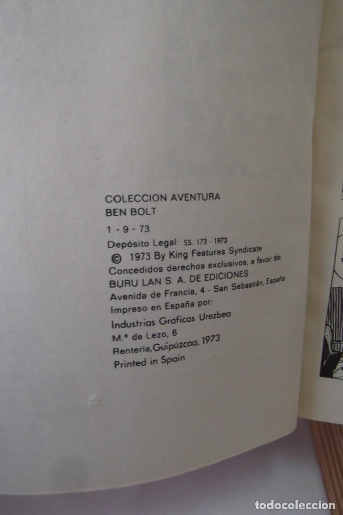 Cómics: = COMIC: BEN BOLT - 1973. = CAMPEONATO MUNDIAL. = - Foto 10 - 200116918
