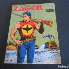 Cómics: ZAGOR Nº55. ORIGINAL. Lote 200355076