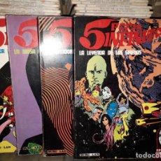 Comics: 5 POR INFINITO LOTE 4 TEBEOS. Lote 200361242