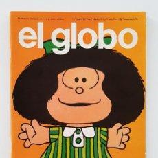 Comics: EL GLOBO Nº 1 - REVISTA MENSUAL DEL COMIC PARA ADULTOS - BURULAN - MUY BUEN ESTADO. Lote 200363452