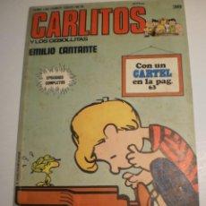 Comics : CARLITOS Y LOS CEBOLLITAS Nº 38 EMILIO CANTANTE COLOR RÚSTICA 68 PÁG 1974 (ESTADO NORMAL). Lote 200377267