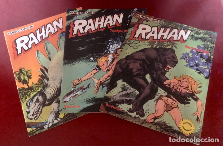 RAHAN 1,2 Y 3. (Tebeos y Comics - Buru-Lan - Rahan)